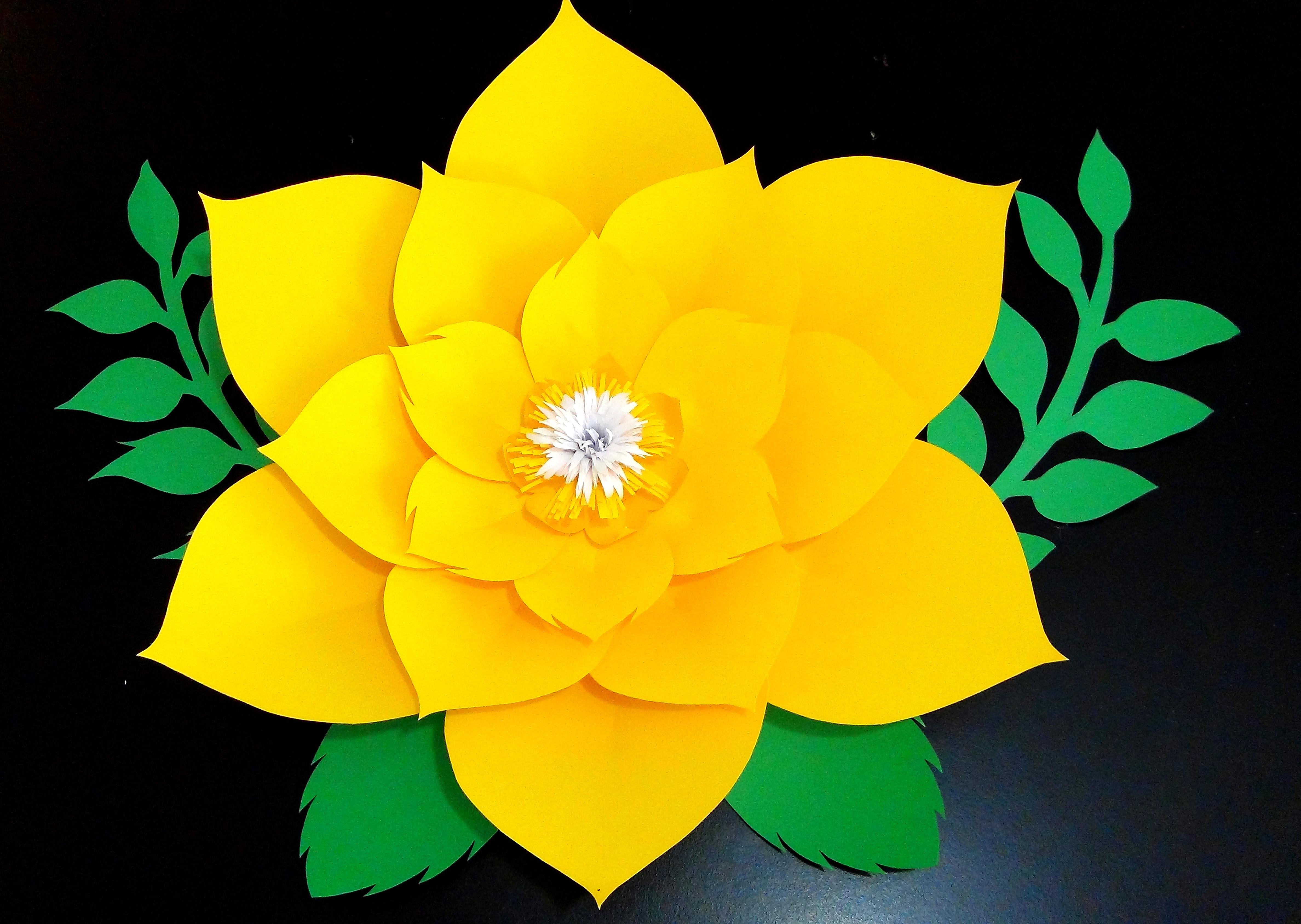 Molde De Flor Aurora Incluye Hojas