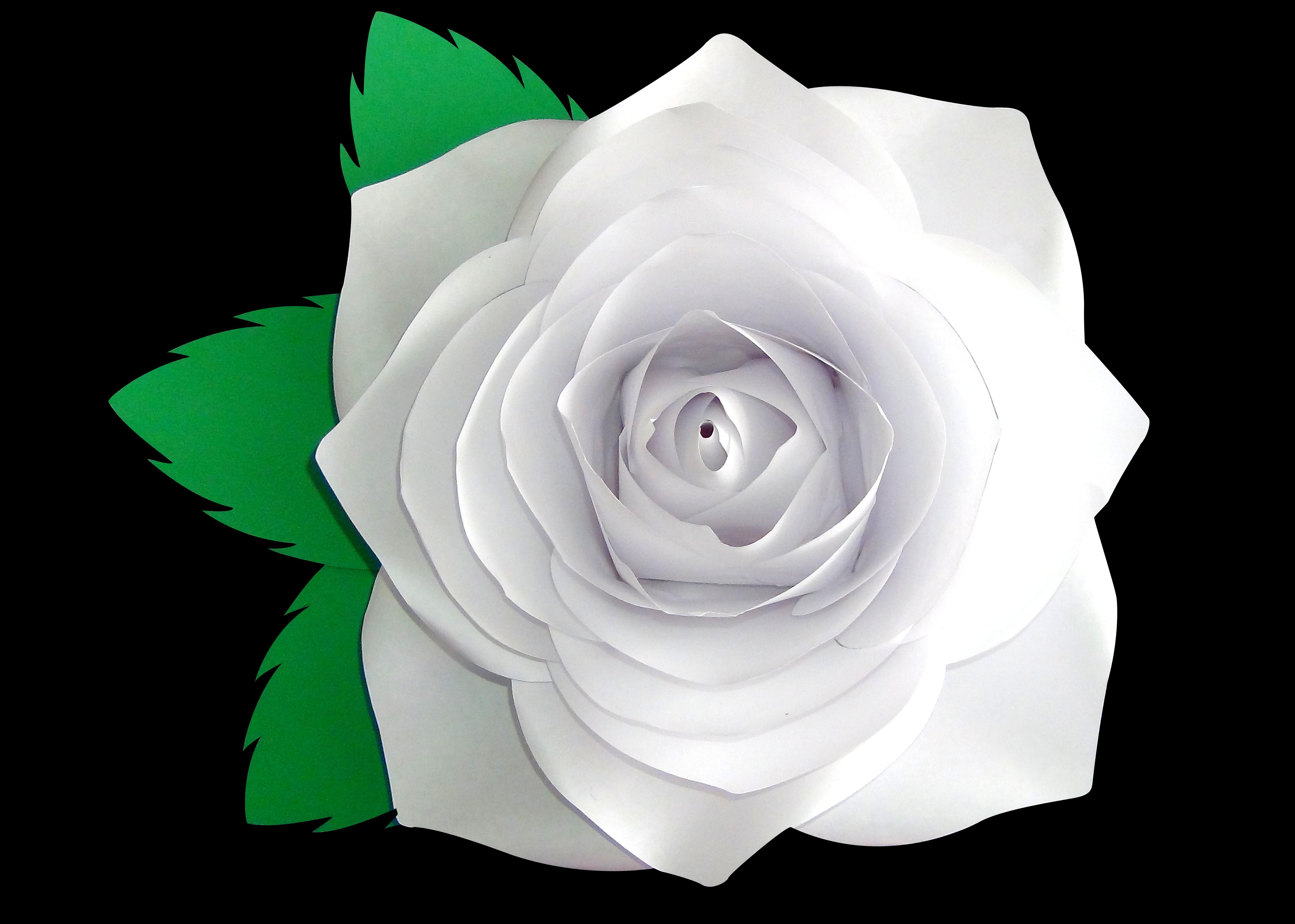 Kit De Moldes Para Rosas De Papel